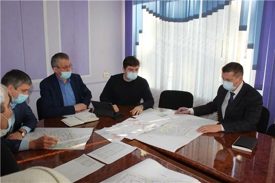 Виталий Михайлов провел рабочую встречу по вопросу проектирования трех моноблочных котельных в микрорайоне Восточный̆ и ул. Репина города Канаш