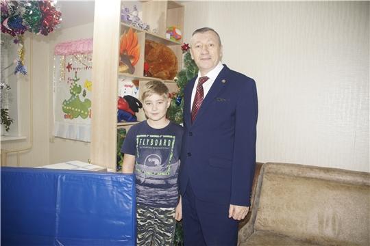 Министр МЧС Чувашии Вениамин Петров исполнил  мечту мальчика