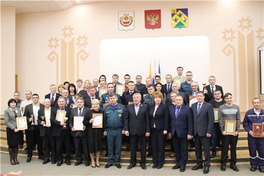 В городе Новочебоксарске подведены итоги деятельности по делам ГО и ЧС