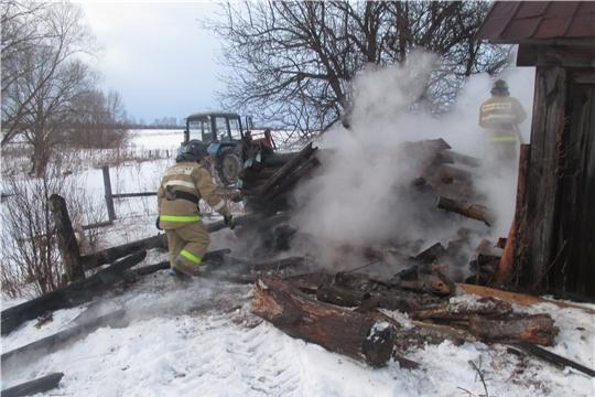 Три техногенных пожара за вчерашние сутки