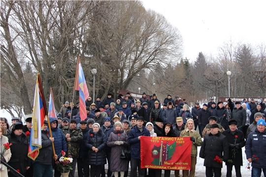 Столица республики почтила память воинов-интернационалистов