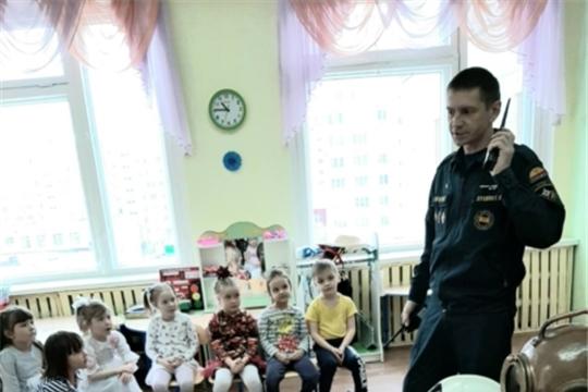 Урок безопасности с воспитанниками детского сада №178 г.Чебоксары
