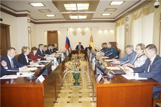 В Доме правительства состоялось заседание комиссии по чрезвычайным ситуациям