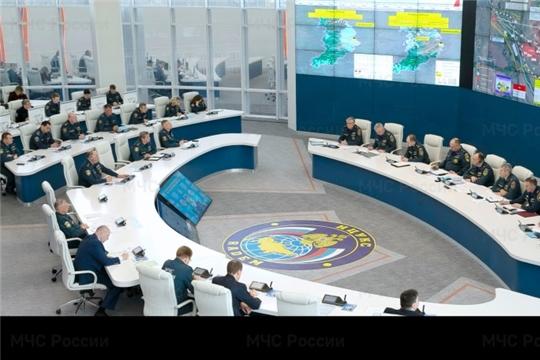 МЧС России организовано жизнеобеспечение населения подтопленных территорий Поволжья и в Центральной России