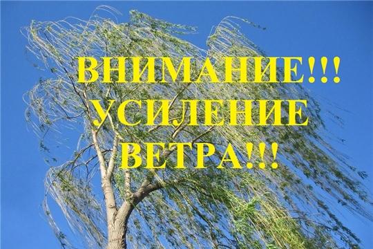 Внимание! Сильный ветер!