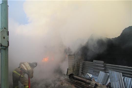 Два пожара за минувшие сутки