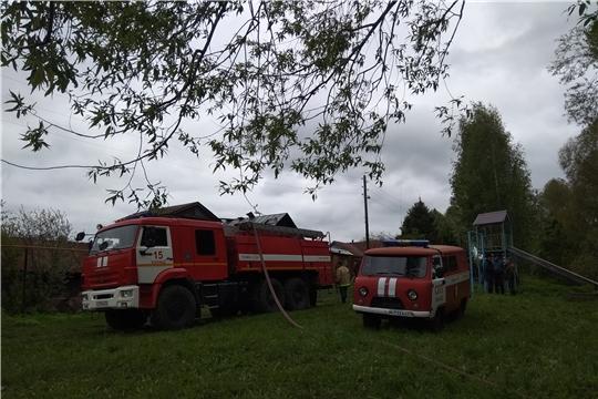 Четыре пожара за минувшие сутки