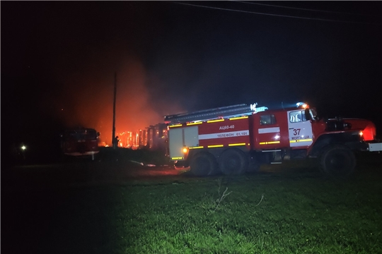 Пять пожаров за прошлые сутки