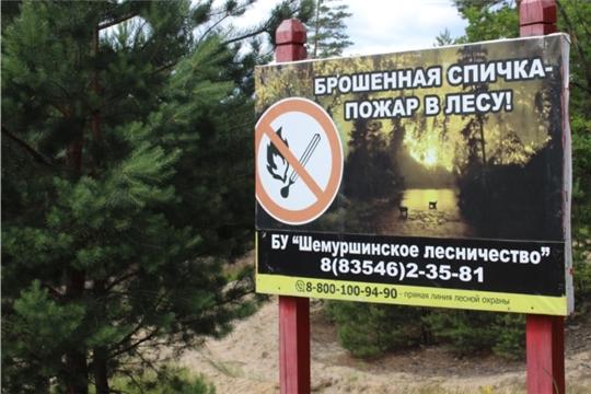 Республиканские огнеборцы патрулируют леса