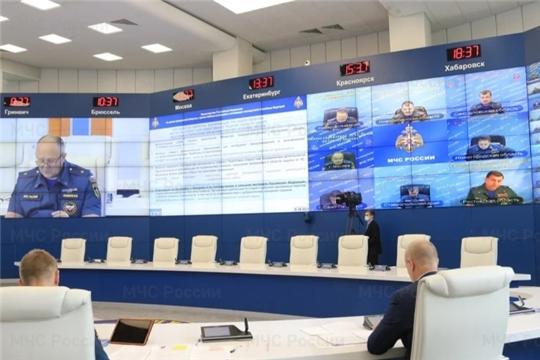 В МЧС России обсудили вопросы привлечения старост к обеспечению безопасности сельских поселений