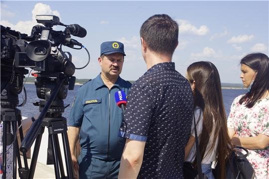 ГКЧС Чувашии призывает быть острожными на воде/НТРК от 09.07.2020г