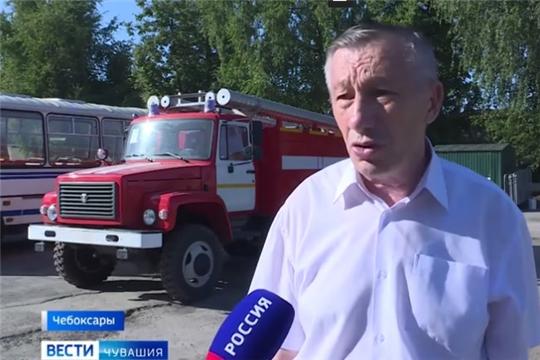 ГКЧС Чувашии призывает быть острожными в период особого противопожарного режима/ГТРК от 9.07.2020г