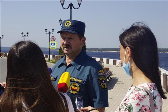 ГКЧС Чувашии призывает соблюдать безопасность на воде/ГТРК от 10.07.2020г