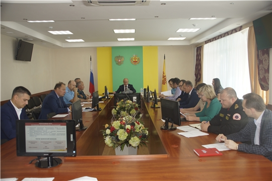 В республике состоялось заседание Комиссии по чрезвычайным ситуациям