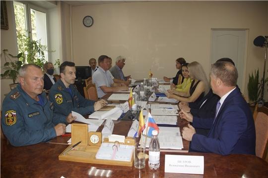 Заседание рабочей группы по защитным сооружениям