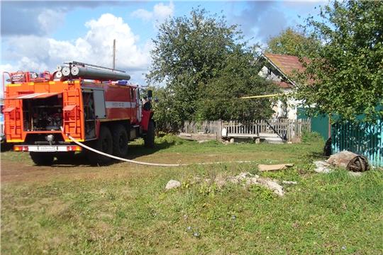 Оперативная обстановка в республике по пожарам за минувшие сутки