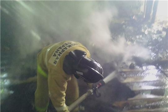 Вчера огнеборцы 5 раз выезжали на тушение пожаров