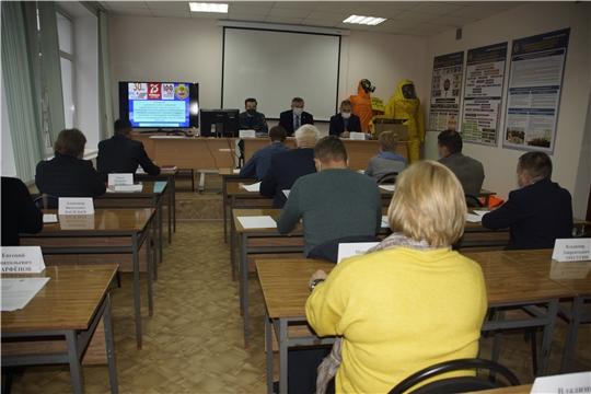 В ГКЧС Чувашии обсуждены проблемные вопросы по организации функционирования СНЛК на территории республики
