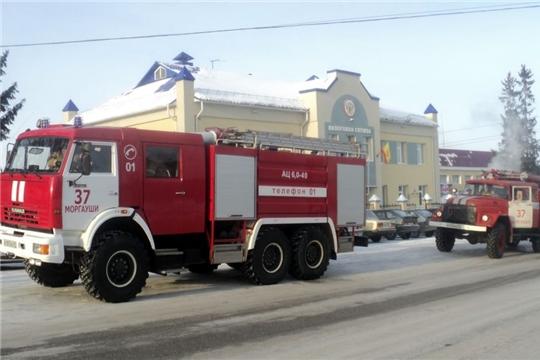 Пожарная безопасность в республике в осенне-зимний период - на контроле ГКЧС Чувашии
