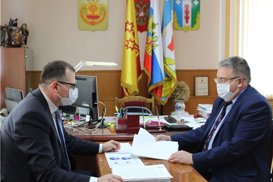 Рабочий визит руководителя Госжилинспекции Чувашии Виктора Кочеткова в Порецкий район
