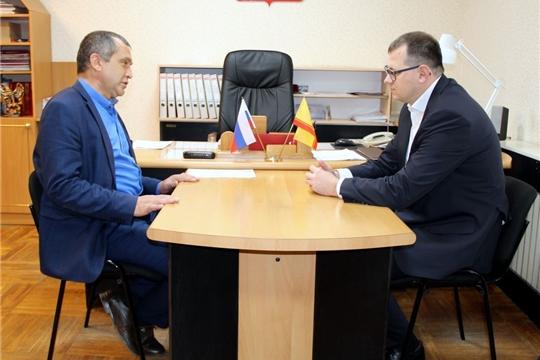 Моргаушский район посетил руководитель Государственной жилищной инспекции Чувашской Республики