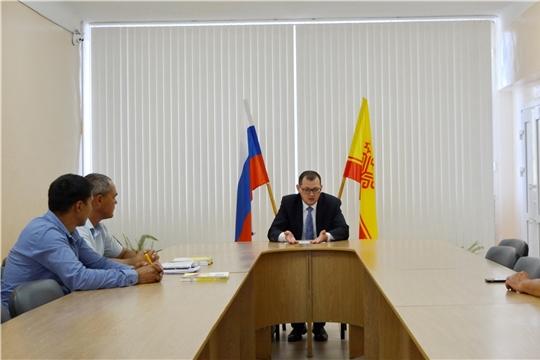 Руководитель Госжилинспекции Чувашии Виктор Кочетков посетил Яльчикский район