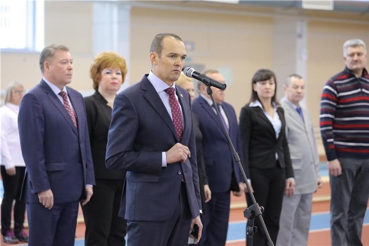 Глава Чувашии Михаил Игнатьев открыл Всероссийские соревнования по легкой атлетике в Новочебоксарске
