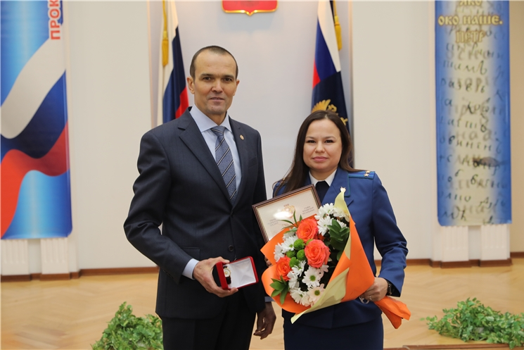 Михаил Игнатьев принял участие в торжественном мероприятии, посвященном Дню работника прокуратуры