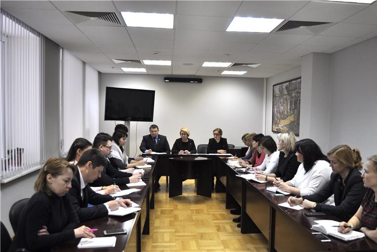 В Администрации Главы Чувашской Республики обсуждены вопросы применения процессуального законодательства Российской Федерации