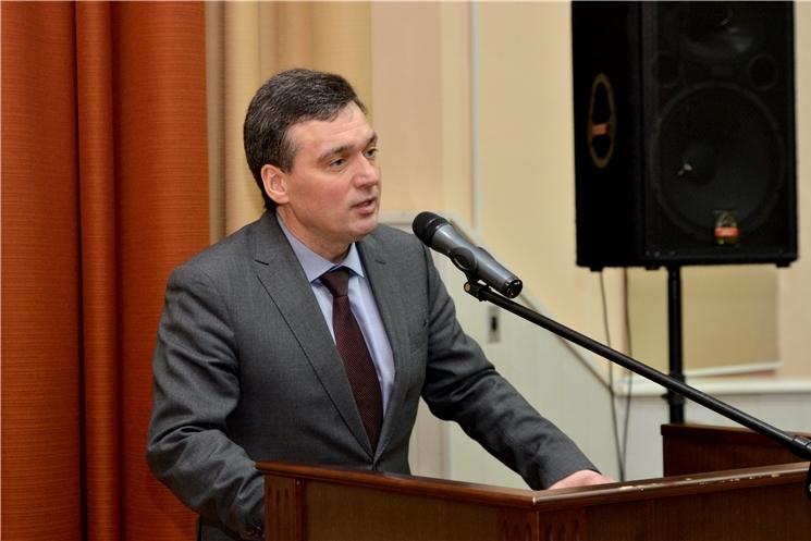 Иван Моторин поздравил сотрудников СУ СКР по Чувашии с 9-й годовщиной создания ведомства