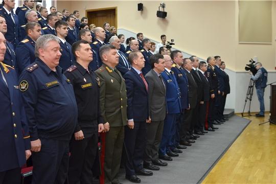 Торжественное мероприятие, посвященное 9-й годовщине образования Следственного комитета России