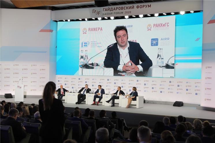 Глава Чувашии Михаил Игнатьев принял участие в мероприятиях Гайдаровского форума