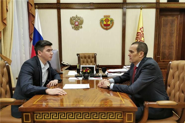 Иван Филиппов назначен помощником Главы Чувашской Республики