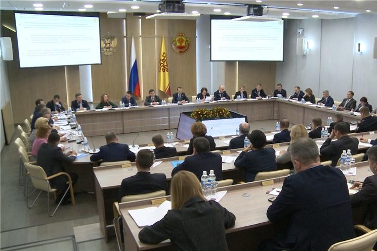 Члены Правительства Чувашской Республики обсудили ключевые темы Послания Президента Российской Федерации