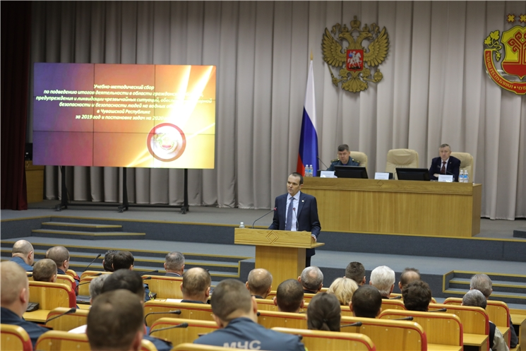 За пять лет в Чувашской Республике на обеспечение безопасности жизнедеятельности населения направлено свыше 3 млрд рублей