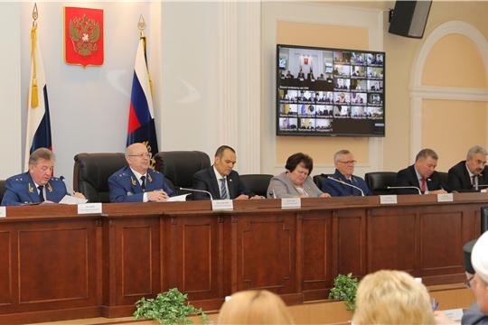 Расширенное заседание коллегии прокуратуры Чувашской Республики по подведению итогов деятельности за 2019 год