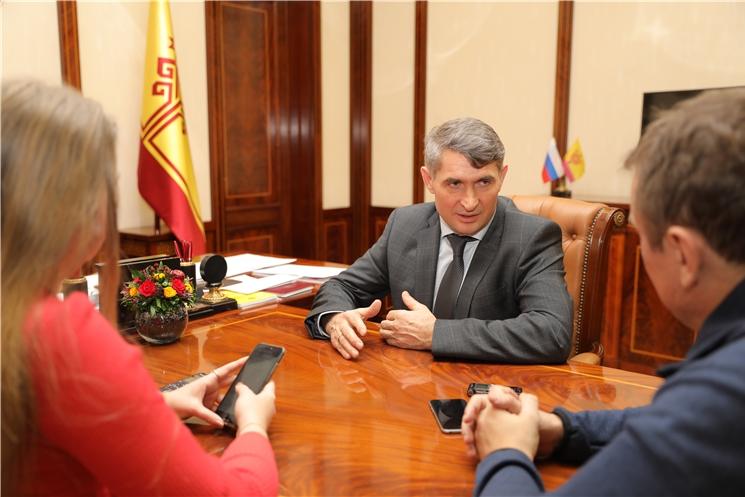 Олег Николаев ответил на вопросы ИТАР-ТАСС, «Комсомольской правды» и МТРК «Мир»