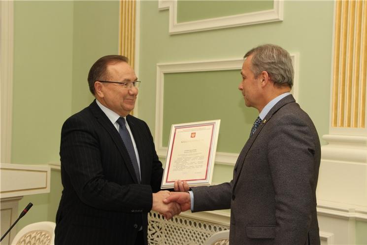 Ректору ЧГУ объявлена благодарность полномочного представителя Президента Российской Федерации в ПФО Игоря Комарова
