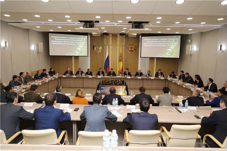 Олег Николаев предложил предпринимателям объединиться