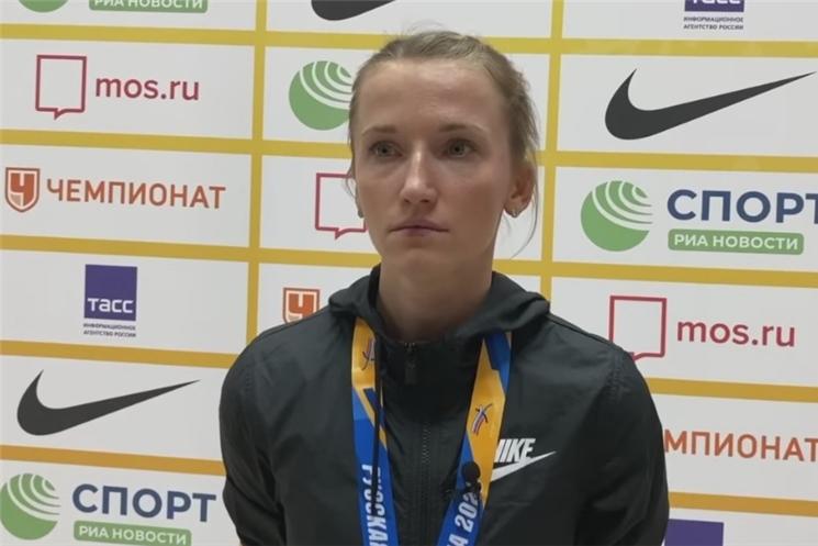 Анжелика Сидорова — победительница легкоатлетического турнира «Русская зима»