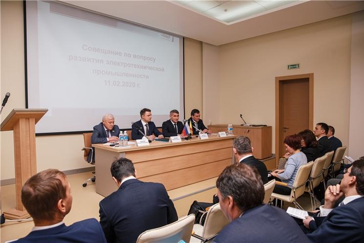 Совещание по вопросам развития электротехнической промышленности