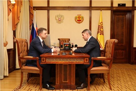 Рабочая встреча с заместителем Министра промышленности и торговли РФ Михаилом Ивановым