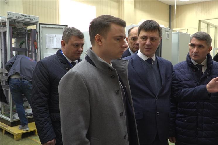 Сегодня  в Чувашии с рабочим визитом побывал  заместитель Министра промышленности и торговли России Михаил Иванов.