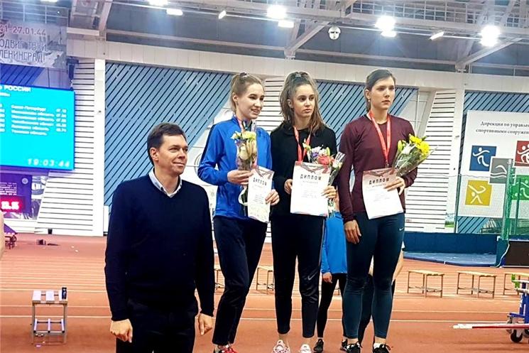 Легкоатлетка Виктория Жилина стала серебряным призером первенства России