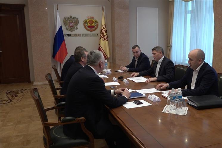 Олег Николаев встретился с руководством агрохолдинга «Юрма».