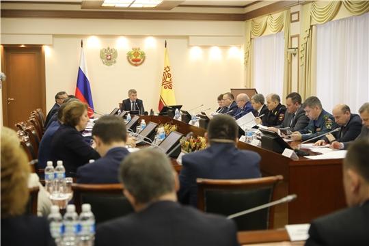 Заседание комиссии по координации работы по противодействию коррупции в Чувашской Республике