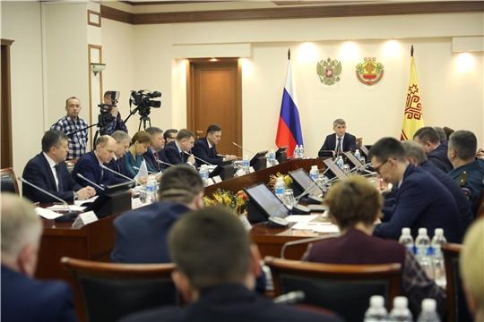Заседание Координационного совещания при Главе Чувашской Республики по обеспечению правопорядка в Чувашской Республике