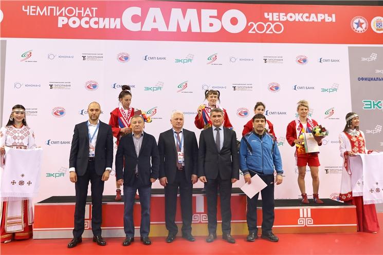 Олег Николаев принял участие в открытии чемпионата России по самбо
