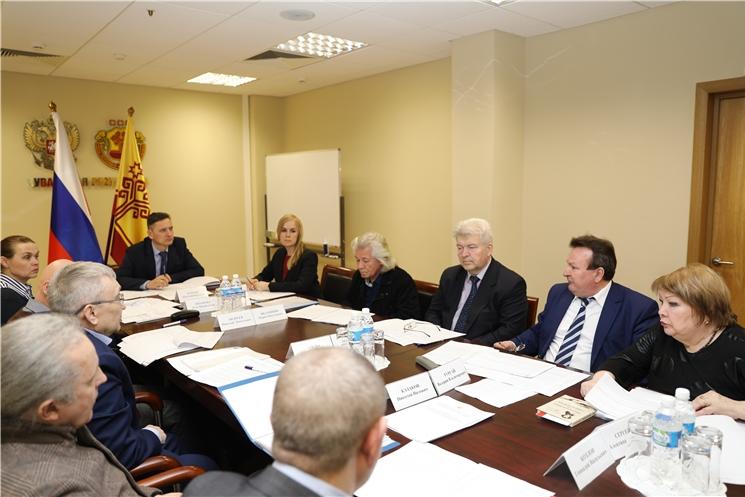 Состоялось заседание Комиссии при Главе Чувашской Республики по Государственной премии Чувашской Республики в области литературы и искусства