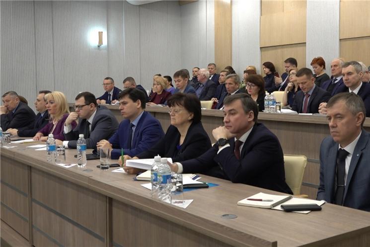 В Доме правительства обсудили ситуацию на строительном рынке Чувашской Республики